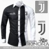Kemeja X-Over Juventus Black White