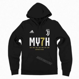 Hoodie Sweater Juventus Scudetto #MY7H 2018