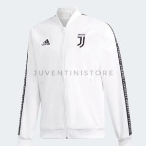 JAKET JUVENTUS ANTHEM WHITE 2018/19