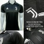 Juventus Icon Retro T-Shirt Limited Edition – Short Sleeve
