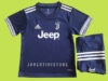 Jersey Juventus Away Kids 2020/2021